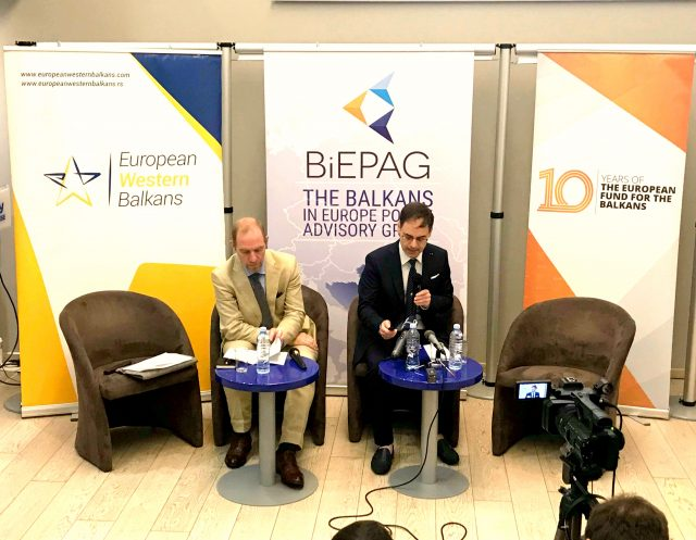 """Public Event and a presentation of the latest BiEPAG policy brief """"Global Actors in the Western Balkans"""""""