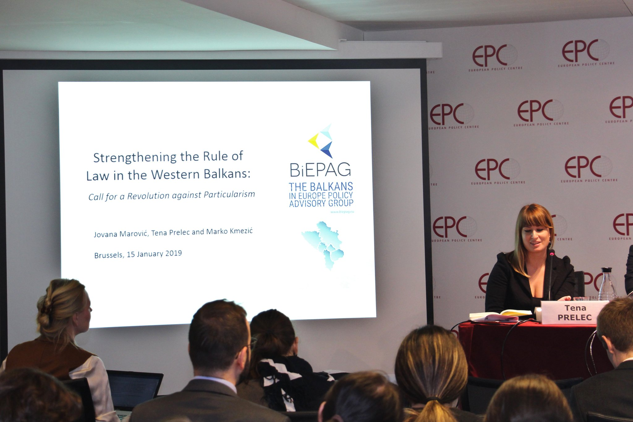 BiEPAG policy study on the rule of law in the Western Balkans presented in Brussels