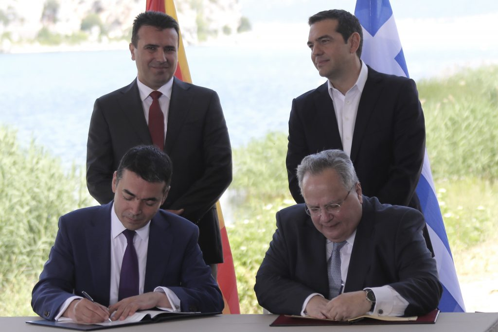 The Skopje-Athens agreement: A view from (North?) Macedonia